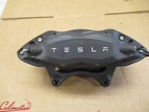 Tesla Model S Front Left Brake Caliper Base Gray