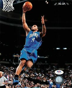 Jameer Nelson signed 8x10 photo PSA/DNA Orlando Magic Autographed