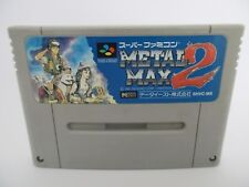 METAL MAX 2 - SUPER FAMICOM - Jeu SUPER NINTENDO SNES version JAP