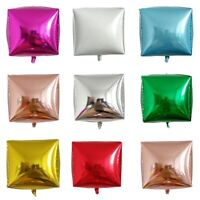 5pcs 4D Square Cube Shape Balloon Aluminum Film Wedding Fun Birthday Party Decor