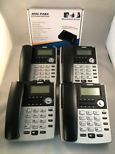 HOME Small Office PBX 308 sistema telefonico e 4 x BT telefoni