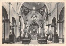 Cartolina - Postcard  - Sassari - Cattedrale - Interno - anni '40