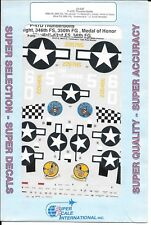 Super Scale P-47D Thunderbolt Decals 1/48 547, Raymond L. Knight, Medal of Honor