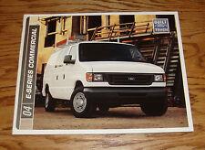 Original 2004 Ford E-Series Commercial Sales Brochure 04 150 250 350 450