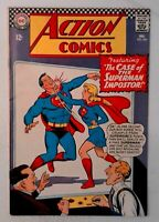 Action Comics #346 DC 1967 FN Silver Age Comic Book Superman Supergirl