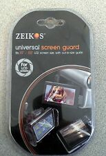 "Zeikos Universal Screen Guard For LCD 1.5""-5.0""/Digital Camera & Camcorders NEW"