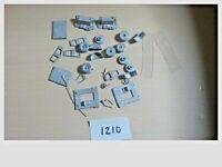 HO Scale Pewter Metal Truck / Semi Truck Unassembled Model Kit  B1210