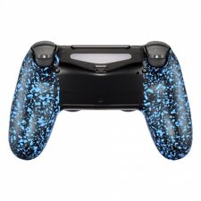 Military Gamer Grip Gehäuse für PS4 Controller Slim Pro JDM-040 Anti Sweat Blue