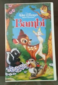 Bambi Vhs