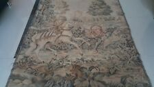 """Antique 19c Aubusson French style  Tapestry siz 60""""x48 cm152x122 Beautiful real"""