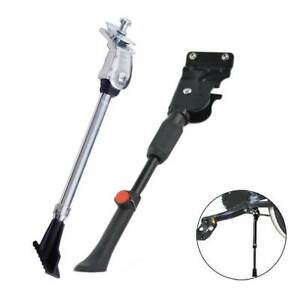 UK Mountain Bike Bicycle Cycle Kick Stand Sizable Rubber Foot Heavy Duty Pillar