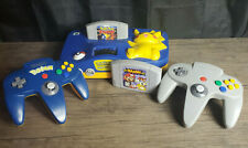 Nintendo 64 N64 Pikachu Edition Console w/ Controller and 2 games mario  pokemon