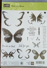 Stampin Up! Watercolor Wings Clear Stamp Set. Beautiful!