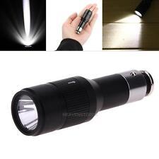 Mini CREE Q5 Car Cigarette Lighter Lamp Rechargeable LED Flashlight Torch Light