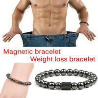 Magnetic Hematite Beads Healthcare Weight Loss Bracelet Bangle Healthy Therapy`-