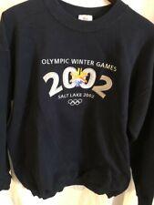 Olympic Winter Games 2002 Sweatshirt, Heavy Cotton, New, Never Worn, LARGE