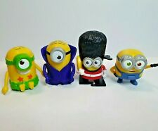 4 Minions McDonald Figurines Toys Happy Meal Figures