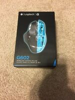 Logitech G602 Wireless Gaming Mouse with 250 Hour Battery Life New