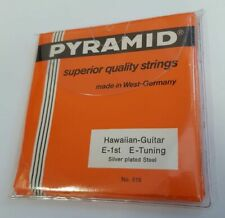 PYRAMID Hawaiian-Guitar Strings E-1st E-Tuning 6-Saiter Set