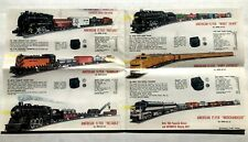 1959-60 Gilbert American Flyer Model Train Brochure  Catalog