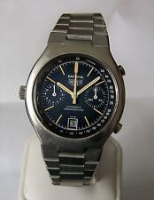 Vintage Stainless Heuer Daytona Automatic Chronograph Caliber 12 Chronomatic