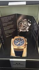 BRAND NEW TW Steel CE4003 KIVENC Blue/Gold 44m RARE