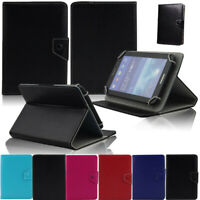 "Folio Stand Leather Cover Case For Barnes & Noble NOOK 7"" Tablet"