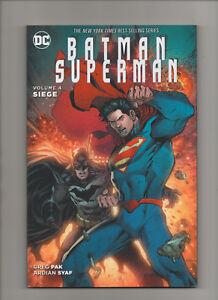 Batman Superman: Siege - Vol 4 TPB - (Grade 9.2) 2016