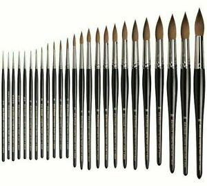 Da Vinci Maestro Kolinsky Sable Series 10 Rounds. Artists Watercolour Brush.