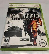 Battlefield Bad Company 2 Microsoft Xbox 360 2010 Z2378