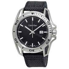 Calvin Klein Earth Black Dial Men's Watch K5Y31TB1