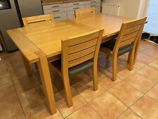 Marks And Spencer Sonoma Oak Extendable Dining Table & 6 Chairs
