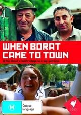WHEN BORAT CAME TO TOWN, ALL REGIONS, NEW & SEALED, FREE POST!