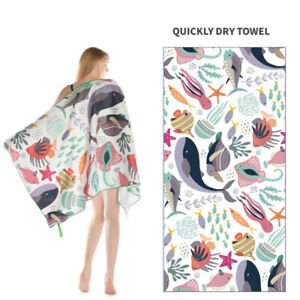 Outdoor Water Sports Towel Quick Dry Swimming Surf Beach Towel Blanket