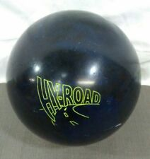"14lb Storm Hy-Road Bowling Ball Span of 5"" navy blue yellow 09TTYE06E024"