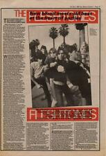Fleshtones Interview NME Cutting 1982