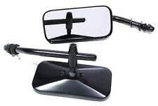 Minispiegel schwarz für Harley Davidson Chopper Custombikes Universal Bobber New