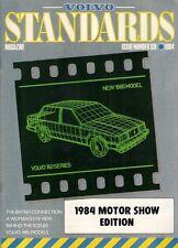 Volvo Standards Magazine No6 1984 UK Market Brochure 340 360 240 260 740 760
