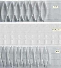 Natro arricciatenda 2/80 altezza 8 cm. multiiasca color bianco