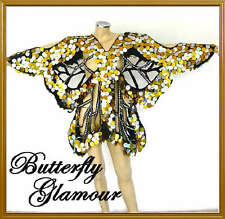 GOLD SEQUIN Burlesque Drag Queen butterfly Dance dress