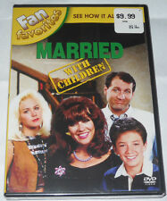 Married... With Children: Fan Favorites (DVD, 2009) See How It All Began! NEW!