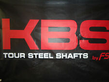 NEW KBS Tour  SPINE Aligned Shafts R, R+, S, S+, X .355 4-PW - Includes Ferrules