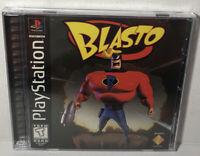 Blasto (Sony PlayStation 1, 1998) PS1 Complete CIB Tested