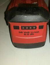 Hilti Batteria 36 Volt Li-lon 6ah Originale