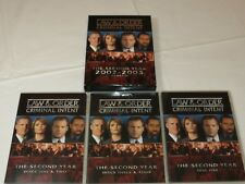 Law & Order: Criminal Intent - The Second Year DVD 2006 5-Disc Set TV-14 Drama