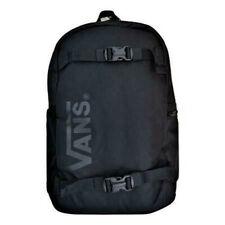 Vans Essential Black Reflective Skateboard Pack Laptop Unisex Backpack VN0A46NA