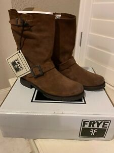 Frye Veronica Short Women's Boot Brown Suede 7.5M NEW w/box