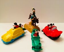 Vintage Burger King Kid's Meal Disney Wind-Up Mickey Mouse & Friends Toy Lot