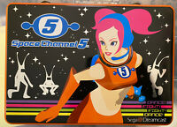 Space Channel 5 SEGA Dreamcast Press Kit Tin ~ 2000 ~ Excellent Condition ~Ulala