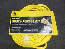 NEW!! POWER 1ST INDUSTRIAL 100' EXTENSION CORD, 10/3 WIRE, 4GAA4